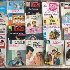 Libros de segunda mano: LOTE 20 NOVELAS ROMANTICAS CARLOS SANTANDER FEMENINA ROSAURA MADRE PERLA .... Lote 253171590