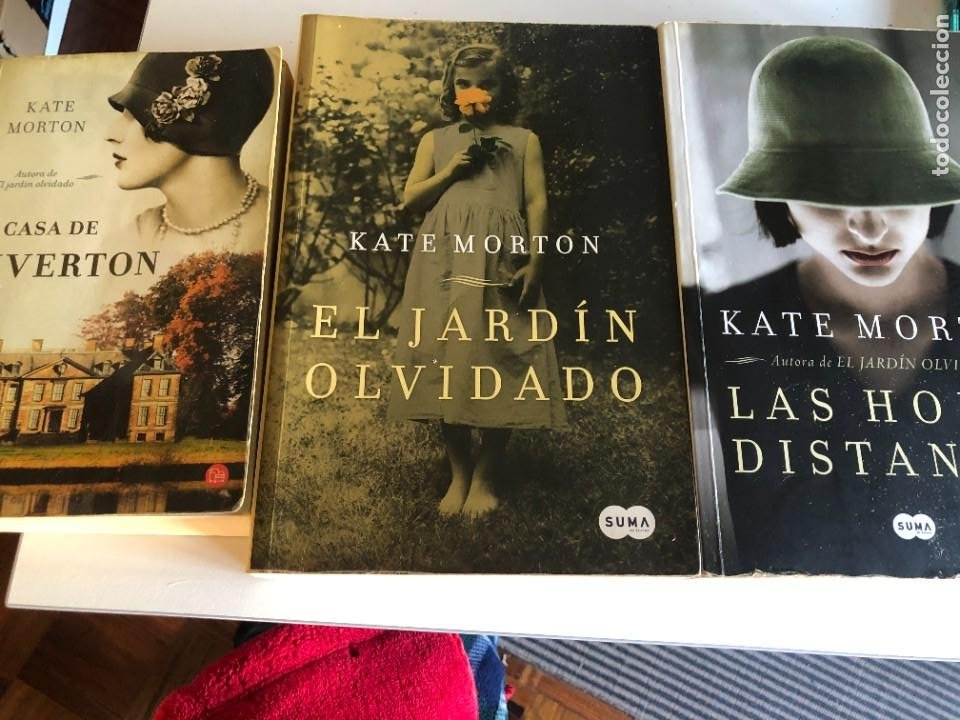 LOTE DE LIBROS DE KATE MORTON (Libros de Segunda Mano (posteriores a 1936) - Literatura - Narrativa - Novela Romántica)