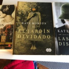 Libros de segunda mano: LOTE DE LIBROS DE KATE MORTON. Lote 253515585