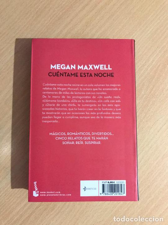 Libros de segunda mano: Megan Maxwell - Cuéntame esta noche - Booket - 2016 - Foto 2 - 254010025