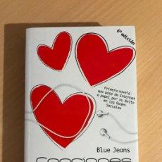 Libros de segunda mano: BLUE JEANS - CANCIONES PARA PAULA - EVEREST - 6ª EDICIÓN. Lote 254013245