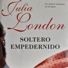 Libros de segunda mano: SOLTERO EMPEDERNIDO JULIA LONDON ESENCIA 1 EDICION 2009. Lote 254111055