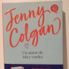 Libros de segunda mano: JENNY COLGANY 1 MÁS UN AMOR DE IDA Y VUELTA PLANETA INTERNACIONAL. Lote 260781660