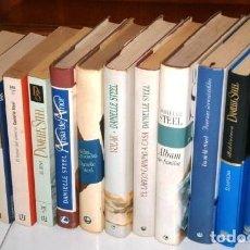 Libros de segunda mano: LOTE DE 13 NOVELAS DIFERENTES POR DANIELLE STEEL (VER TÍTULOS Y CARACTERÍSTICAS EN LA DESCRIPCIÓN). Lote 25339569