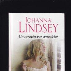 Libros de segunda mano: JOHANNA LINDSEY - UN CORAZÓN POR CONQUISTAR - RBA EDITORIAL 2015. Lote 262842835