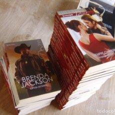 Libros de segunda mano: LOTE DE 36 NOVELAS HARLEQUÍN -DESEO- NUEVAS.. Lote 263663555