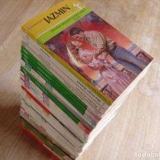 Libros de segunda mano: LOTE DE 34 NOVELAS HARLEQUÍN -DESEO, JAZMÍN... - NUEVAS.. Lote 263703035