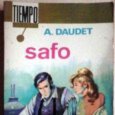 Libros de segunda mano: SAFO (ALFONSO DAUDET) EDITORIAL FERMA 1967. Lote 263809720