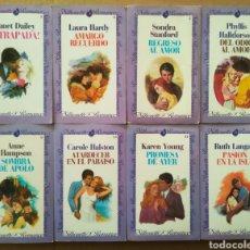 Libros de segunda mano: LOTE SILHOUETTE ROMANCE: NÚMEROS 1-3-5-7-9-11-13-15-16-18-19-20-21-24-25-29-30-31 (FORUM, 1983-1984). Lote 265683179