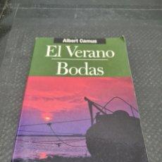 Libros de segunda mano: EL VERANO,BODAS, 2000, ALBERT CAMUS. Lote 269809033