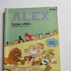 Libros de segunda mano: ALEX Nº 18 ÚLTIMO. BURU LAN 1973 45 PTS CASSIUS ATLETA ARX12. Lote 270205143