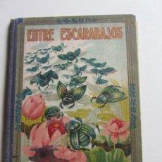Libros de segunda mano: ENTRE ESCARABAJOS. EL CANARIO Y EL JILGUERO. MANUEL MARINEL.LO. DIBUJOS DE RICARDO OPISSO 1918 ARX12. Lote 270205493
