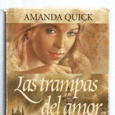 """Libros de segunda mano: LIBRO, """"LAS TRAMPAS DEL AMOR"""", DE AMANDA QUICK, ED. B. ARGENTINA 1997. Lote 271654938"""