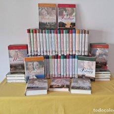 Libros de segunda mano: COLECCIÓN GRANDES SAGAS DE LA NOVELA ROMÁNTICA (65 NOVELAS) COLECCION COMPLETA - EDICIONES RBA 2009. Lote 275213933