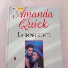 Libros de segunda mano: 49639 - LA IMPRUDENTE - POR AMANDA QUICK - EDITA RBA - AÑO 2003. Lote 277678058