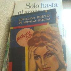 Libros de segunda mano: COLECCION PUEYO DE NOVELAS SELECTAS SUCEDIO ASI MARIA TERESA SESE. Lote 277720833