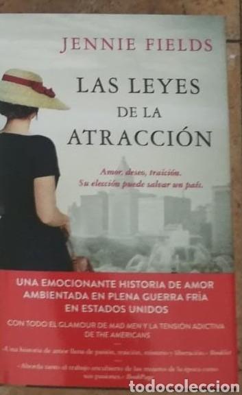 LAS LEYES DE LA ATRACCIÓN JENNIE FIELDS (Libros de Segunda Mano (posteriores a 1936) - Literatura - Narrativa - Novela Romántica)