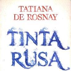 Libros de segunda mano: TINTA RUSA. Lote 277831188