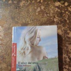 Libros de segunda mano: HARLEQUIN PASIÓN N° 4: EL ELIXIR DEL AMOR (KATE HOFFMANN). Lote 277847248