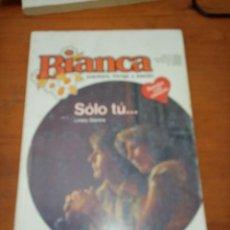 Libros de segunda mano: BIANCA. SOLO TÚ... LINSEY STEVENS. EST7B4. Lote 278332233