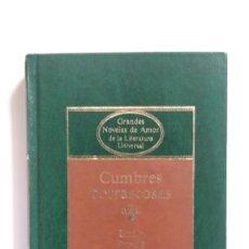 Libros de segunda mano: CUMBRES BORRASCOSAS - EMILY BRONTE - ED. PLANETA, 1984. Lote 278398803