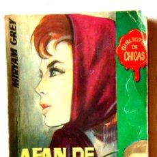Libros de segunda mano: 1962 - GREY: AFÁN DE AVENTURA. Lote 295347788