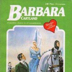 Libros de segunda mano: LA CARRERA DEL AMOR (EL NOMBRE CLASICO EN EL ROMANTICISMO) Nº 299 - CARTLAND, B. - A-BARBARA-003. Lote 295517598
