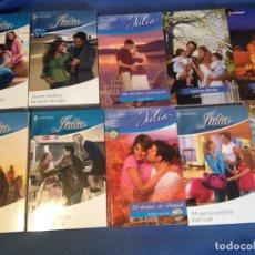 Libros de segunda mano: 40 NOVELAS ROMANTICAS HARLEQUIN JAZMÍN,BIANCA,JULIA,DESEO-ENVÍO GRATIS PENINSULA. -FOTOS DE TODAS -. Lote 297082903