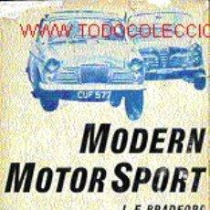 Libros de segunda mano: MODEM MOTOR SPORT. Lote 6057530
