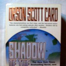 Libros de segunda mano: SHADOW OF THE HEGEMON. ORSON SCOTT. ENGLISH BOOK. Lote 3945957