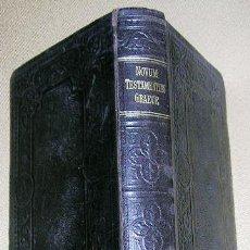 Libros de segunda mano: NOVUM TESTAMENTUM. GRAECE CON APARTADO CRÍTICO Y MAPAS 659 PG. EDT: NESTLE 1901. ENVÍO CERTIFIC PAGO. Lote 25850902