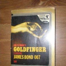 Libros de segunda mano: GOLDFINGER (JAMES BOND 007). IAN FLEMING. Lote 7676194