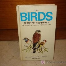 Libros de segunda mano: THE BIRDS OF BRITAIN AND EUROPE - BOOK CLUB ASSOCIATES 1984. Lote 7928086