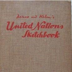 Libros de segunda mano: UNITED NATIONS SKETCHBOOK- A CARTOON HISTORY OF THE UNITED NATIONS. AÑO 1950. Lote 27000142