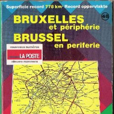 Libros de segunda mano: BRUSELAS. BRUXELLES ET PERIPHERIE. BRUSSEL EN PERIFERIE. GEOCART. 48. 1:15.000. 6 EDICION.. Lote 22285808