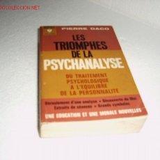 Libros de segunda mano: LES TRIOMPHES DE LA PSYCHANALYSE. Lote 23779447
