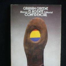 Libros de segunda mano: GRAHAM GREENE. EL AGENTE CONFIDENCIAL. ALIANZA ED.BOLSILLO. 1990 240 PAG.. Lote 10349747