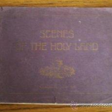 Libros de segunda mano: SCENES OF THE HOLY LAND .. 30 AQUQRELLES BY F. PERLBERSG. Lote 22420079