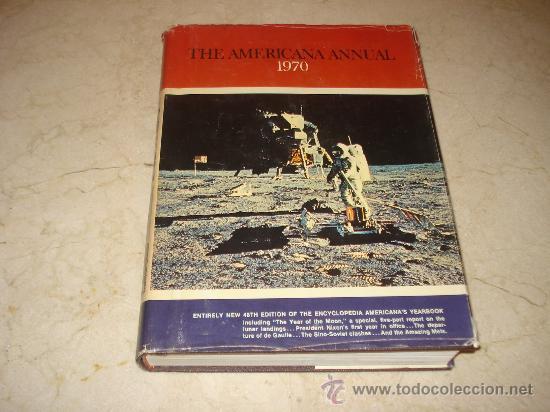THE AMERICANA ANNUAL 1970 - AMERICANA CORPORATION (Libros de Segunda Mano - Otros Idiomas)