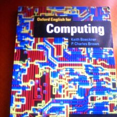 Libros de segunda mano: OXFORD ENGLISH FOR COMPUTING. Lote 25167511