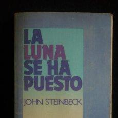 Libros de segunda mano: LA LUNA SE HA PUESTO.JOHN STEINBECK. EDHASA BOLSILLO. 1989 127 PAG. Lote 12654853