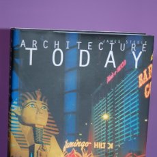 Libros de segunda mano: ARCHITECTURE TODAY BY JAMES STEELE PHAIDON EN INGLES 1997 LIBRO ARQUITECTURA . Lote 12754995