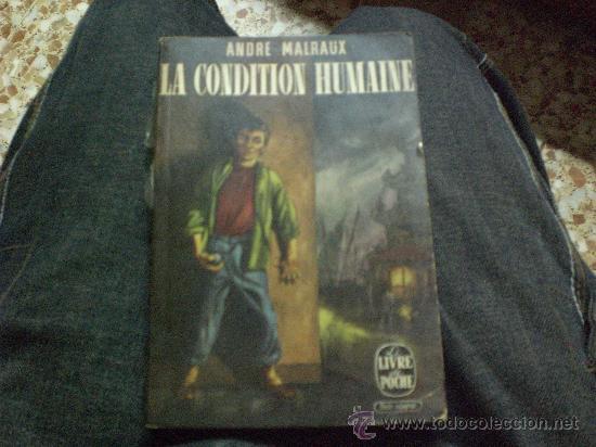 LA CONDITION HUMAINEDE ANDRE MALRAUX-LE LIVRE DE POCHER Nº27 (Libros de Segunda Mano - Otros Idiomas)