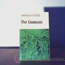Libros de segunda mano: DER GASMANN;HEINRICH SPOERL;GRAFISK 1974(EN ALEMÁN). Lote 15074035