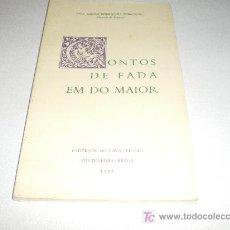 Libros de segunda mano: CONTOS DE FADA EM DO MAIOR - CADERNOS DO POVO / FICÇÃO - PONTEVEDRA-BRAGA. Lote 17825314