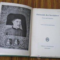 Libros de segunda mano: HEINRICH DER SEEFAHRER 1954 .. BIOGRAFÍA REY DE PORTUGAL. Lote 15439983