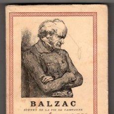 Libros de segunda mano: LE MEDECIN DE CAMPAGNE PAR BALZAC. EDTIONS ALBIN MICHEL PARIS 1960. Lote 18403806