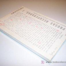Libros de segunda mano: CASTELAO. PROSAS RECUPERADAS, I (1912-1950) ED. CELTA. AÑO 1974. Lote 20828184