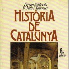 Libros de segunda mano: HISTÒRIA DE CATALUNYA. Lote 27557264