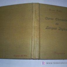 Libros de segunda mano: CURSO ELEMENTAL DE LENGUA INGLESA PRIMERA PARTE BRIAN KELLY 1946 AB42437. Lote 21060947